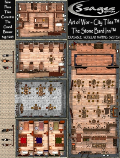 Stone Bard Inn tiles review