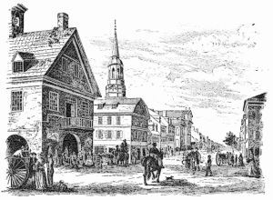 first_town_hall_and_courthouse_in_Philadelpia
