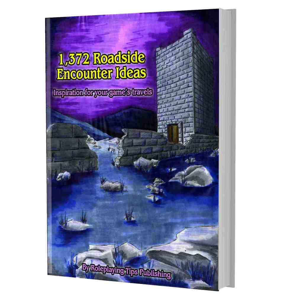 Cover of 1,37@ Roadside and Wilderness Encounter Ideas book