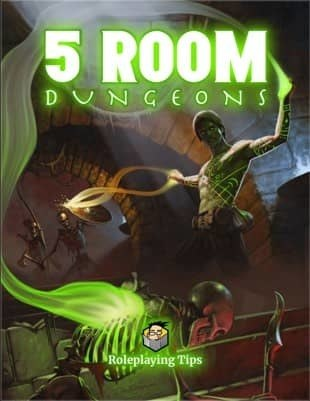 5 Room Dungeons Book Cover