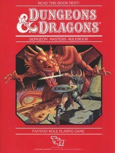 Basic D&D Dungeon Masters Manual (BECMI)
