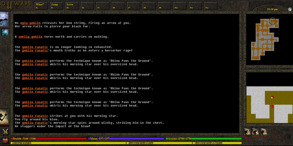 God Wars screenshot