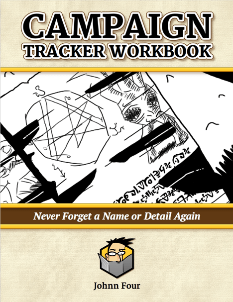 RPG Campaign Tracker Workbook Cover