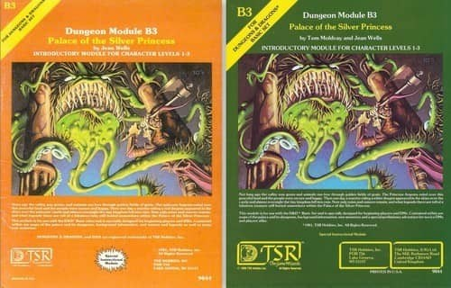 D&D Adventure Modules the B Series