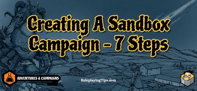 creating-a-sandbox-campaign-7-steps