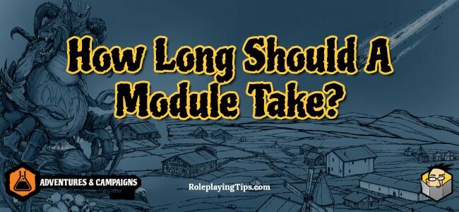 how-long-should-a-module-take