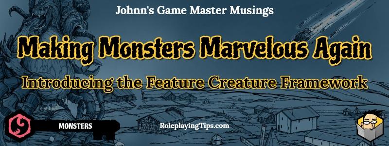 Making Monsters Marvelous banner