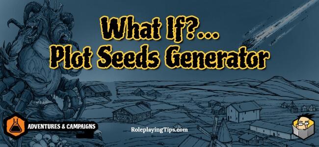 what-if …-plot-seeds-generator